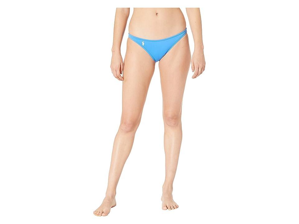 Polo Ralph Lauren Modern Solid Taylor Hipster Bottoms (Pool) Women