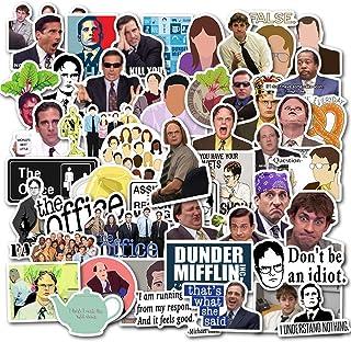 ملصقات المكتب (50 قطعة) ملصقات الكمبيوتر المحمول المكتبية، ملصقات مضحكة مقاومة للماء لقوارير المياه وزجاجات المياه وأجهزة ...