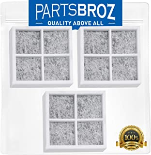 LT120F Air Filter (3-Pack) by PartsBroz - Compatible with for LG Refrigerators - Replaces Part Numbers ADQ73214404, AP5629741, ADQ73214402, 2308805, ADQ73214406 & PS3654115
