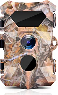 ZIMOCE Trail Game Camera 16MP 1080P, Hunting Cameras with...
