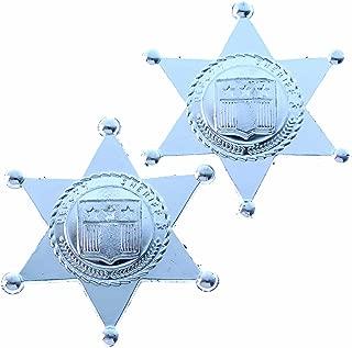 Toy Sheriff Badges (One Dozen Bag)