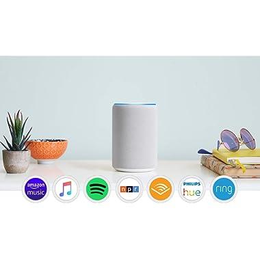 Echo (3rd Gen) - Smart speaker with Alexa - Sandstone