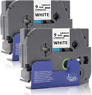 3x Label Tape TZ231 TZe231 12mm 8m für Brother P-Touch H100LB D210VP E110 E110VP