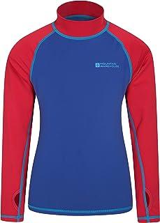 Mountain Warehouse Camiseta térmica para niños - Camiseta térmica con protección UV, Camiseta térmica de Manga Larga para ...