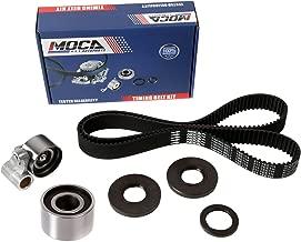 MOCA TCK298 Timing Belt Kit with Tensioner and Seal Fit 1998-2009 Toyota 4Runner Tundra & Lexus LS430 GX470 1UZFE 2UZFE 3UZFE 4.3L 4.7L
