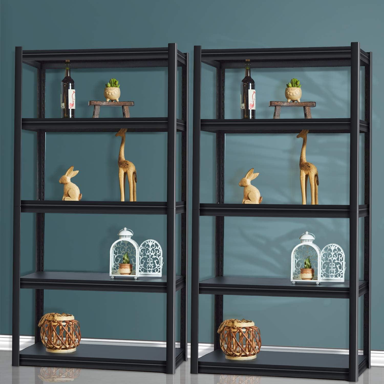 Raybee Garage Storage Shelves Adjustable 5 Tier Industrial Shelv Las Vegas NEW before selling Mall