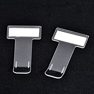 TXIN 5Pcs Transparent Car Parking Ticket Holder Clip Car Windshield Tickets Holder with Adhesive Tape