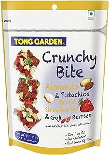 Tong Garden Crunchy Bite Almonds, Pistachios, Strawberries & Gojiberries, 110g