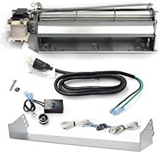Hongso BLOT Replacement Fireplace Blower Fan KIT for Monessen, Hearth Systems, Martin, Majestic, Hunter Fireplaces