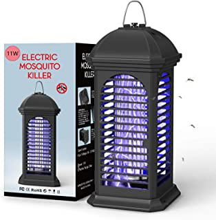 NAIYO Bug Zapper-11W Powerful Insect Killer,Electronic Insect Killer,Safety Mosquito Fly Repelled Lamp,Electric Mosquito Z...
