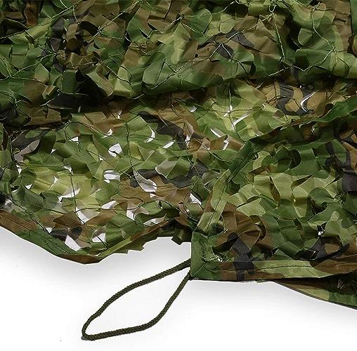 WNpb 2mx3m Armée Fan entraînement Militaire Champ Décoration Net Camouflage Net Parasol Réseau Usine de Réseau Jungle Camouflage Net Défense Air Camouflage Net, Soirée à Thème (Taille   5m×10m)