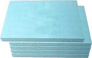 T TOOYFUL 5個ポリスチレン発泡スチロール発泡シートブロッククラフト用、モデリング、アートプロジェクト、295x395x30mm