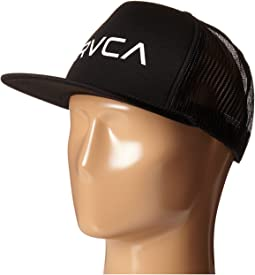 cdb2d70b99c3f2 Rvca cedars trucker hat grey, Accessories | Shipped Free at Zappos
