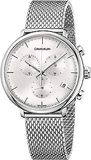 Calvin Klein Men's Quartz Watch, Chronograph Display and Stainless Steel Strap K8M27126