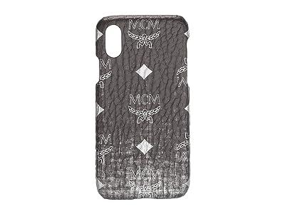 MCM Gradation Visetos Smart Phone Case (Silver) Handbags