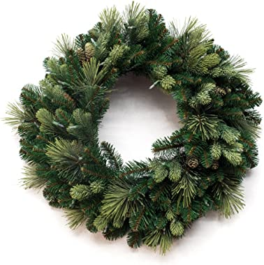 National Tree Carolina Pine Wreath, 30 Inch