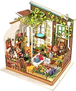 Rolife Dollhouse DIY Miniature Set-Model Building Kit-Self Assembly Construction Fairy Playset-Home Decor-Christmas Birthd...
