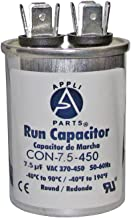 RUN CAPACITOR 7.5 MFD uF 440V/450 ROUND CAN - UL Certified