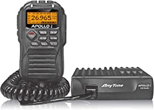 AnyTone APOLLO I 10 Meter Amateur Radio for truck, LCD display and function key in microphone, AM PEP power over 17W