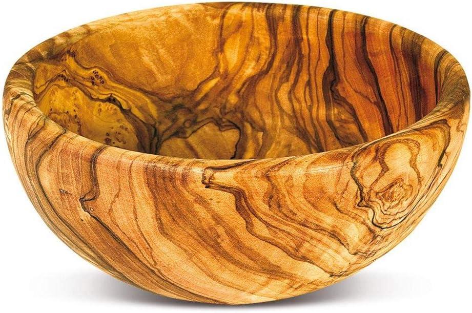 Salad bowl \u00d8 25 cm  9.8 inches olive wood