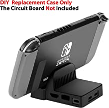 Linkstyle Nintendo Switch Dock Station Case Replacement Portable Dock Stand Base for Nintendo Switch Game Console with HDMI USB Port Cut Outs, Case Only Without The Circuit Board