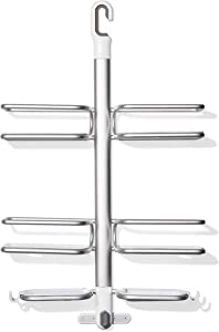 OXO Good Grips Aluminum Hose-Keeper Shower Caddy