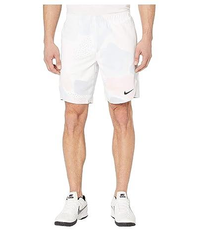 Nike NikeCourt Flex Ace Shorts Aop Mb Nt (White/Off Noir) Men