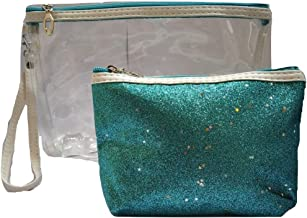 BeautyQua Plastic Travel Toiletry Bag (Green)