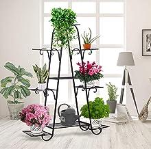 Levede Outdoor Indoor Metal Plant Stand Flower Pots Rack Garden Corner Shelf