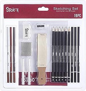 Darice 30086096 Studio 71 Sketching Art Set, 19 Pieces, Assorted