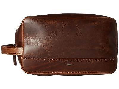 Shinola Detroit Zip Travel Kit Navigator GM (Medium Brown) Wallet