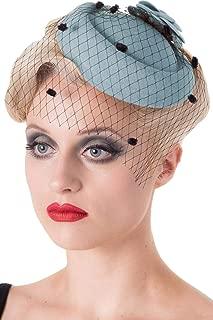 Dancing Days Vintage Style 1940's 1950's Fascinator Marilyn Wedding Hat