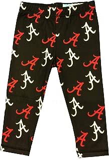 Viva La Fete Alabama All Over Logo Black Leggings