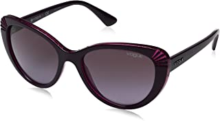 فوغ نظارات شمسية للنساء، لون العدسة زهري، 5050S