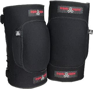 Triple 8 Undercover Snow Knee Pads, Black