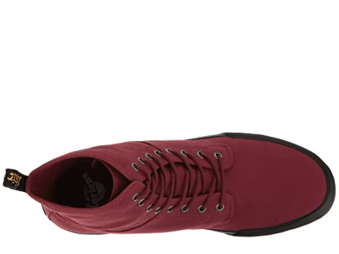 Dr. Martens Winsted Cherry Red Canvas Cheap Sale Marketable 7nQar