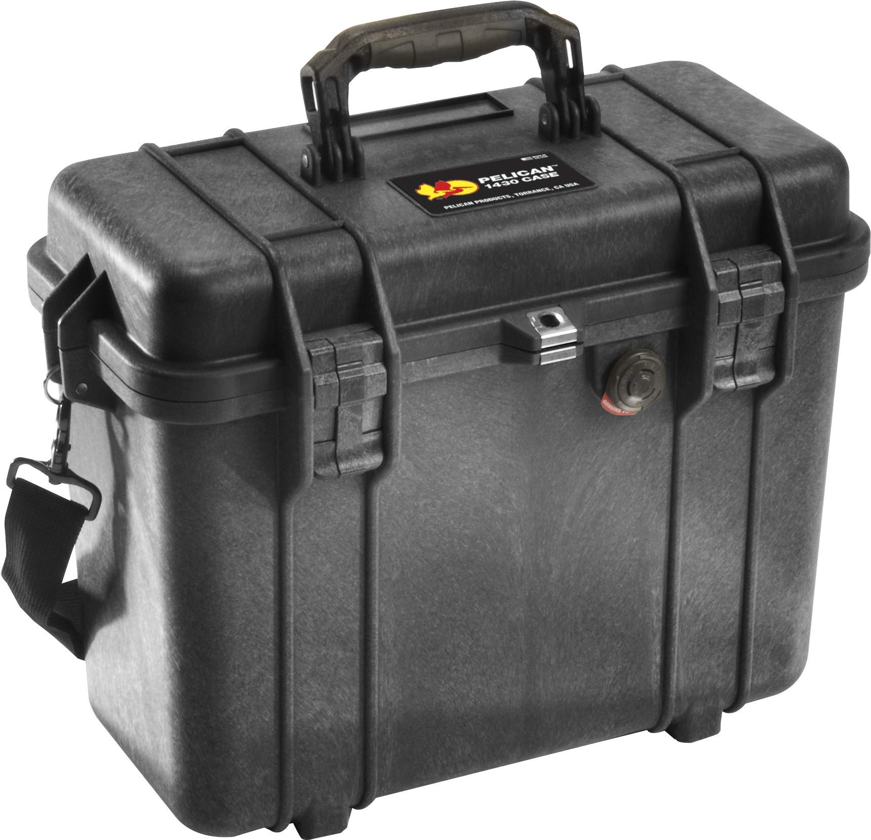 Pelican 1430 - Caja (Polipropileno (PP), Negro, 344 mm, 146 mm, 297 mm, 2,95 kg): Amazon.es: Informática