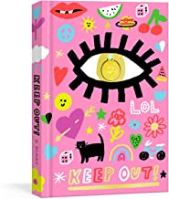 Keep Out!: A Nostalgic '90s Diary with Smiley Face Charm and Stickers