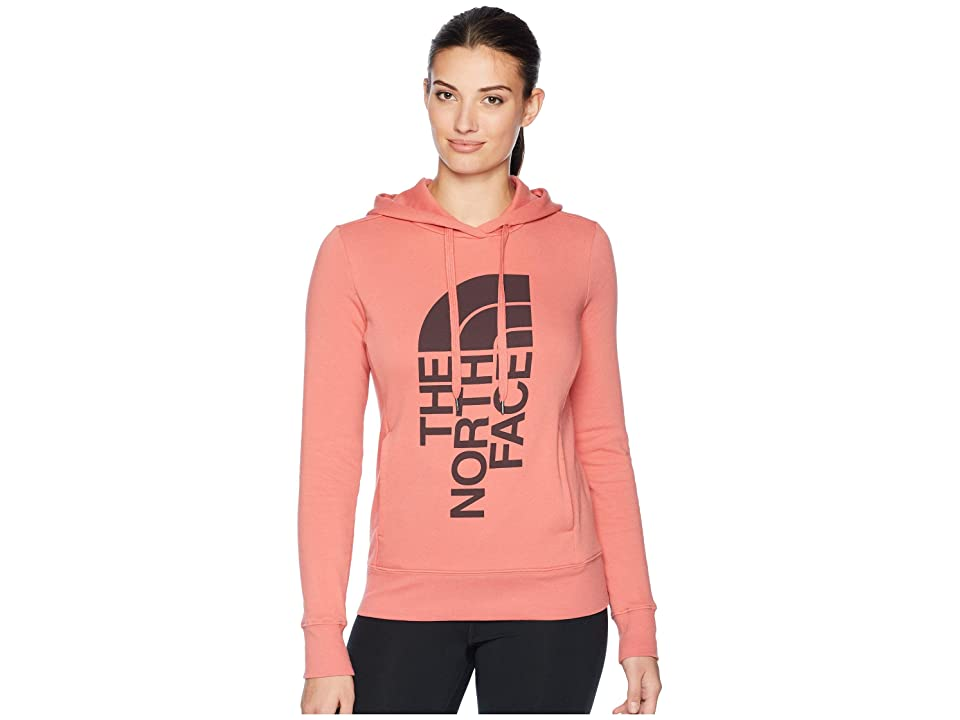 The North Face Trivert Pullover Hoodie (Faded Rose/Fig) Women