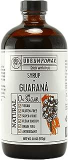 Guarana Syrup(2)_NO Cane Sugar_(Glass Bottles) Natural_Vegan_Energizing_SuperFood_Sweetener