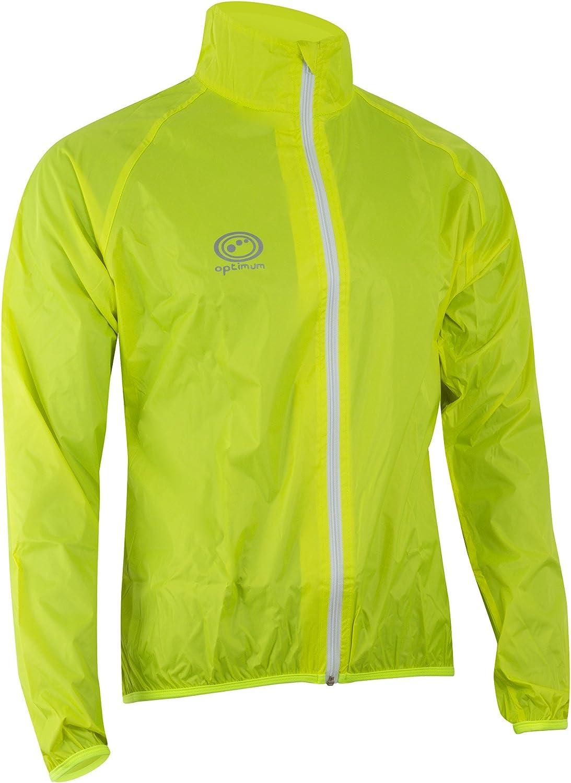 (Small, Green)  Optimum Men's Cycling Rain Jacket