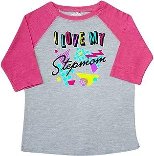 inktastic I Love My Stepmom- 80s Retro Style Toddler T-Shirt
