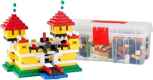 promociones Q-Bricks Aventura Kit y Castillo Building Blocks Maxi Maxi Maxi Caso con Dibujos Instrucciones de Montaje (600 Piezas  A la venta con descuento del 70%.