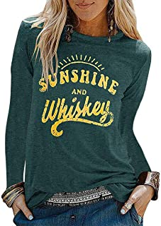 EGELEXY Country Shirts for Women I Like It Dirty Short Sleeve Funny Sayings Casual Country Music Tee