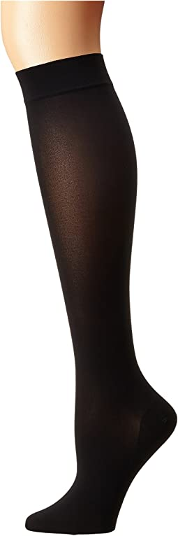 Wolford - Satin Opaque Nature Knee Highs