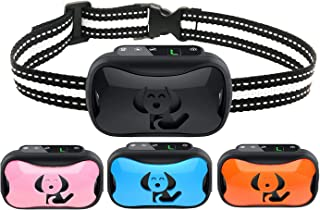AUSELECT Anti Bark Dog Collar Vibration Control Device Waterproof for Small Medium Large Dogs Puppy Training Deterrent Wit...