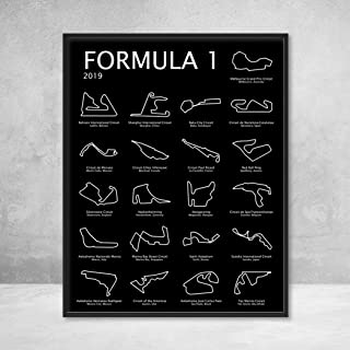 race circuit wall art