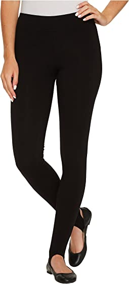 HUE - Cotton Stirrup Leggings