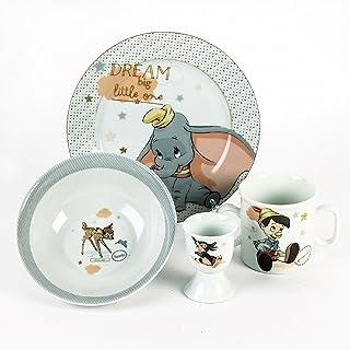Childrens dinnerware Set Set di stoviglie per Bambini Vajilla Infantil Disney Party Set 60988 Minnie Mouse 3-tlg Service de Table pour Enfants