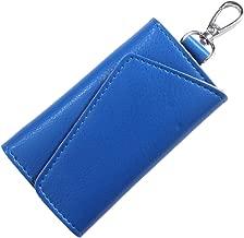 [INNOVATION FACTORY] キーケース 本革 6連 三つ折り 鍵ケース おしゃれ 革 ブランド スマートキー 車 鍵 カード キーリング カラビナ付き